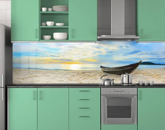 Стеновая панель кухонная 62х205 см (под заказ любой размер), фото 2