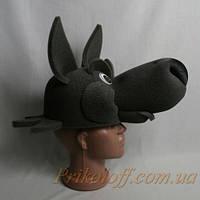 """Шляпа-маска """"Серый Волк"""", поролон"""