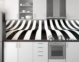 Кухонный фартук, заменитель стекла 62х205 см (под заказ любой размер), фото 3