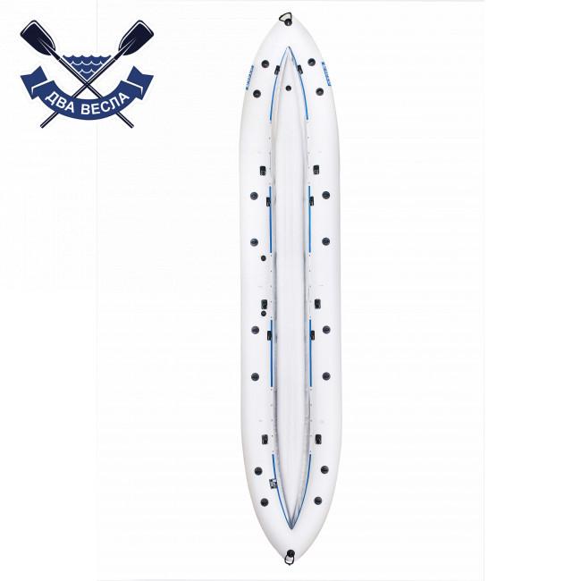 Байдарка надувний Човен ЛБ-530-3 тримісна Базова Чайка для рафтингу