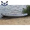 Байдарка надувний Човен ЛБ-530-3 тримісна Базова Чайка для рафтингу, фото 4