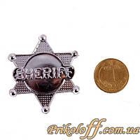 Значек Шерифа с Дикого Запада