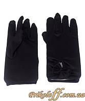 Перчатки, черные