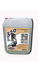 Средство для мытья посуды в посудомоечных машинах FRESCO 320, 12 кг