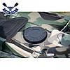 Корпусный каяк Kolibri OnWave-300 Камуфляж одноместный, из HDPE-RM,, фото 8