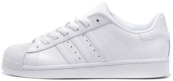 92aed9086 Женские кроссовки Adidas Superstar White (в стиле Адидас Суперстар) белые -  Мультибрендовый магазин обуви