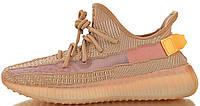 """Женские кроссовки adidas Yeezy Boost 350 V2 """"Clay"""" (в стиле Адидас Изи Буст 350) персиковые"""