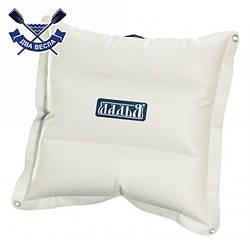 Надувная подушка 50х50х10 с люверсами для надувной байдарки