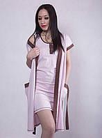 🌺 Домашний комплект, халат и ночная рубашка., фото 1