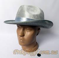 Шляпа Гангстерская, серая