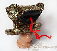 """Шляпа """"Королевская кобра"""", цилиндр"""