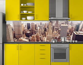 Стеновая панель кухонная 62х205 см (под заказ любой размер), фото 3
