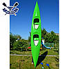 Байдарка Пиранья-490 Укркомпозит двухместная (пластиковый каяк с закрытым кокпитом), фото 2