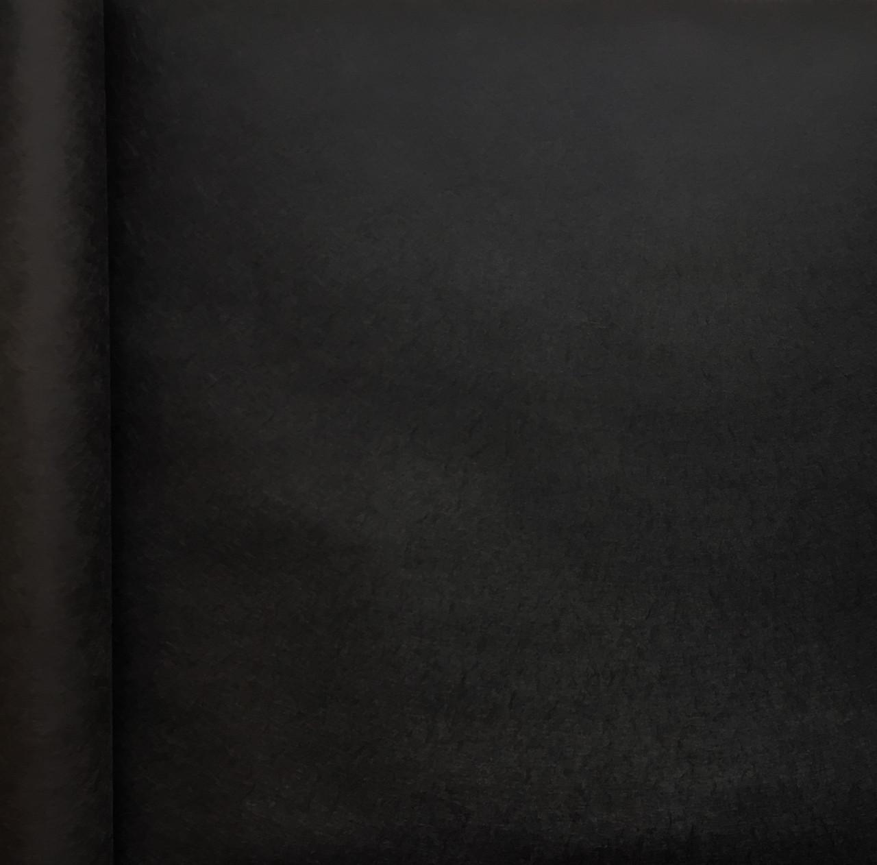 Бумага двухсторонняя черная 65 см х 9 метров