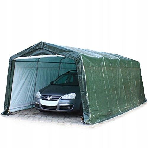 Павільйон гаражний 3,3x6,2 м Поліетилен (PE) 260 г/м2 (Зелений)