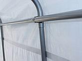 Павільйон гаражний 3,3x6,2 м Поліетилен (PE) 260 г/м2 (Зелений), фото 2