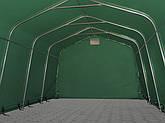 Павильон гаражный 2,4x3,6 м ПВХ 500 г/м² (Зеленый), фото 3