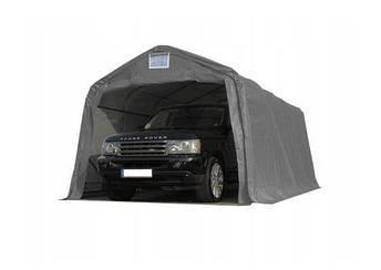Павильон гаражный 3,3x6 м ПВХ 550 г/м² (Серый), фото 2