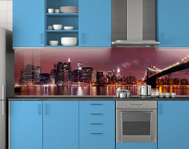 Скинали кухонная на рабочую поверхность 62х205 см (под заказ любой размер)