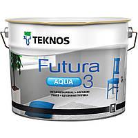 Агдезійна грунтовка для дерева та металу Teknos Futura Aqua 3, 2.7л