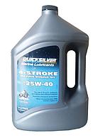 Моторне масло QuickSilver 4T 25w40 стаціонар 4л