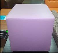 Пуф квадратный Стенли Розовый,пуфик,пуфики,пуф кожзам,пуф экокожа,банкетка,банкетки,пуф куб,пуф фото, фото 6