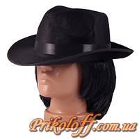 Шляпа гангстера, бархат