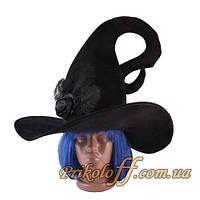 Большая шляпа для Ведьмы, бархат