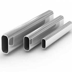 Труба 40х20х1,2 сварная стальная плоскоовальная (38,5*20)