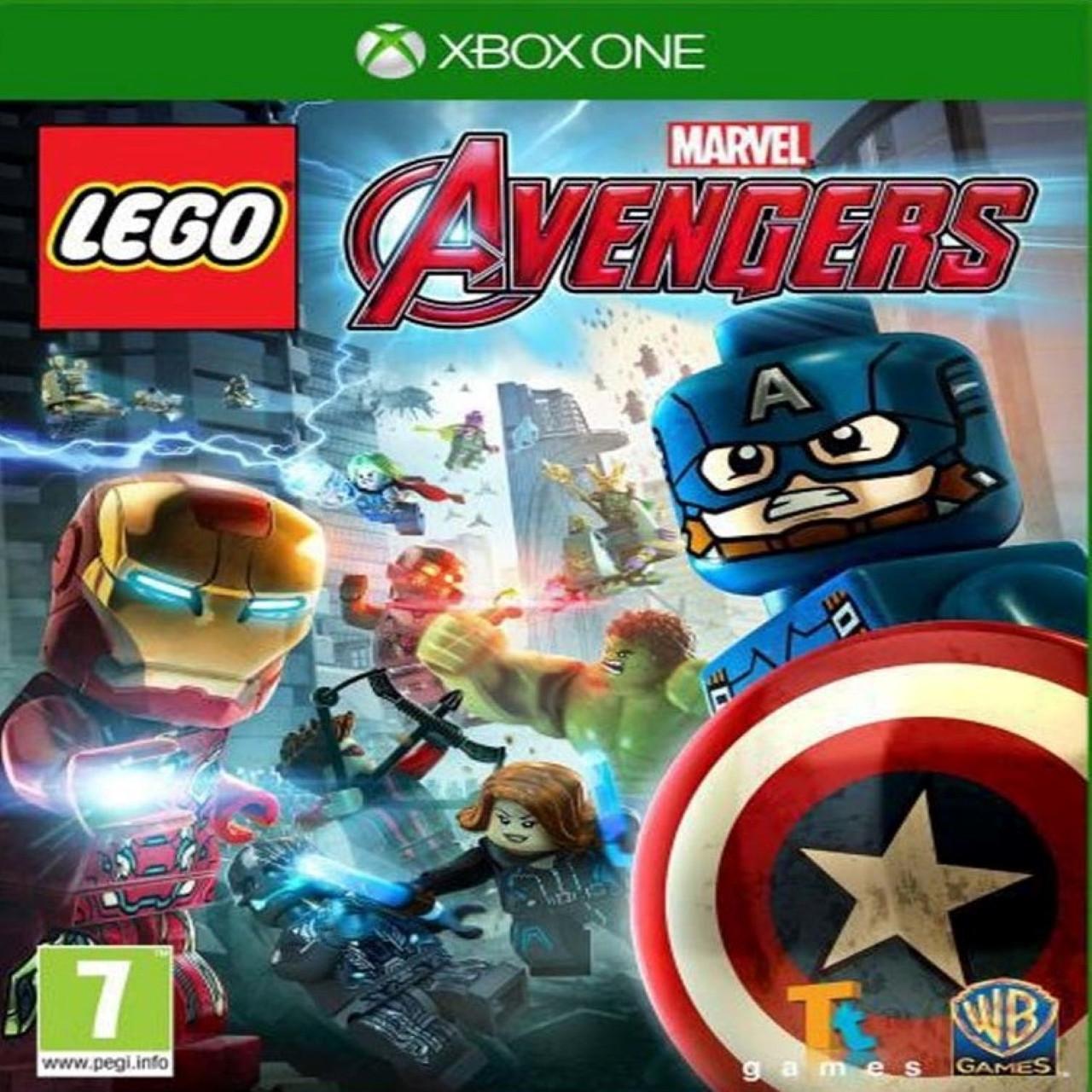 LEGO Marvel Avengers (російські субтитри) XBOX ONE