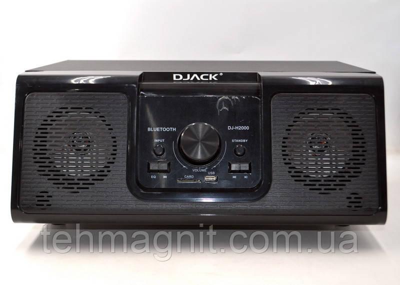 Портативная акустика 2.1  Djack DJ-H2000 (60W/USB/BT/FM)