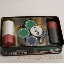 Набор для игры в покер, денежные фишки
