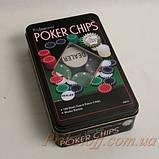 Набор для игры в покер, денежные фишки, фото 2
