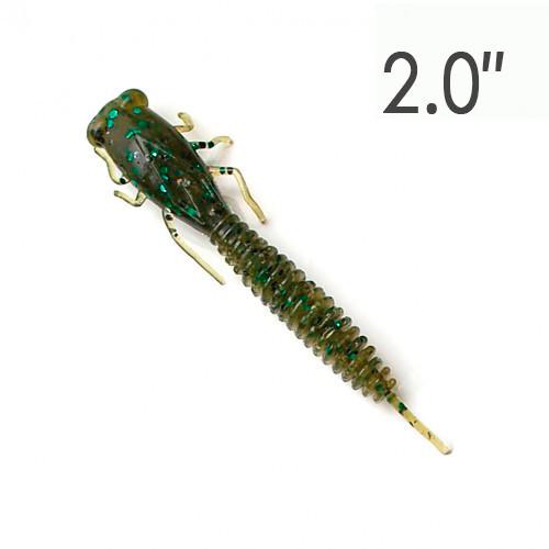 X-LARVA 2″ (50 мм.) 8 шт. Силикон Fanatik 00520XL