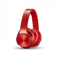 Наушники беспроводные SODO MH5.Bluetooth наушники накладные с встроенной колонкой и MP3 плеером красного цвета