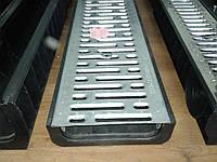 Лоток водосточный пластиковый DN 200 H80 1000*256*80