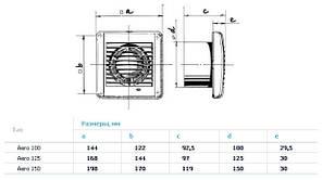 Бытовой вентилятор BLAUBERG Aero 150 (Германия), фото 2