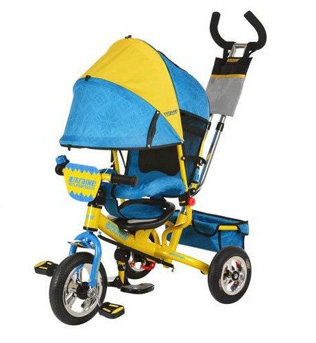 Детский трехколесный велосипед Turbo Trike М 5363-01UKR