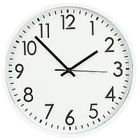 Часы настенные. кварцевые35,5 см 143A/white
