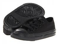 Детские кеды Converse Kids Chuck Taylor All Star Low Mono Black размер 27 (115421-27)