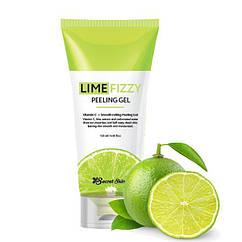 Пилинг-скатка с экстрактом лайма и витамином С Secret Skin Lime Fizzy Peeling Gel