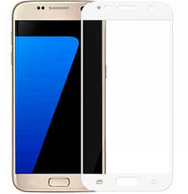 Защитное стекло Optima Full cover для Samsung S7 G930 белый