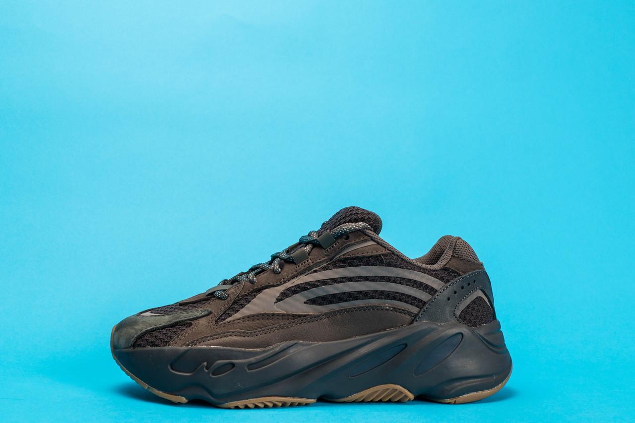 Мужские Кроссовки Adidas Yeezy 700 v2 Brown реплика
