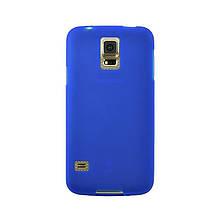 Чехол накладка силиконовый SK TPU Soft для Samsung A710 A7 2016 синий