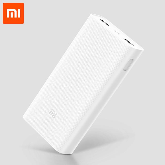 УМБ Xiaomi Mi Power Bank 2C 20000 mAh QC3.0 PLM06ZM White (VXN4220GL) Оригинал