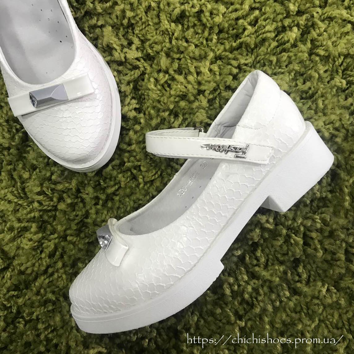 89d1ec811 Нарядные белые туфли для девочки 29-32 размер: продажа, цена в ...