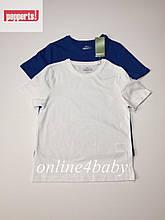Детская футболка Pepperts на мальчика 6-8 лет, рост 122/128, набор из 2 шт