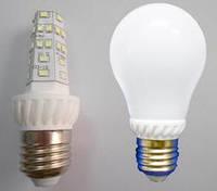 Светодиодная лампочка 9 Ватт