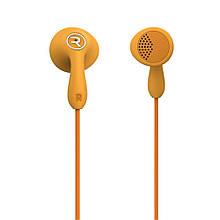 Наушники гарнитура вкладыши Remax RM-301 оранжевый