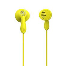 Наушники гарнитура вкладыши Remax RM-301 желтый